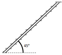 Winkel 45°
